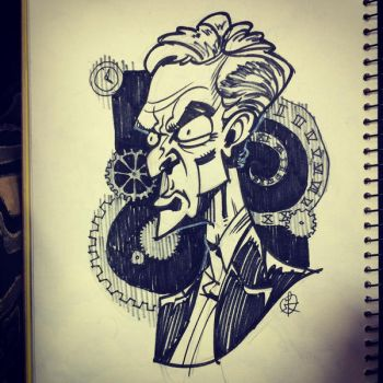 The 12th Doctor by splendidriver