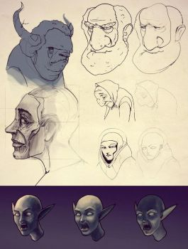 Sketches by Hirosh1ma
