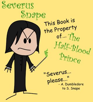 Severus Snape OotS-Style by MCSquared42
