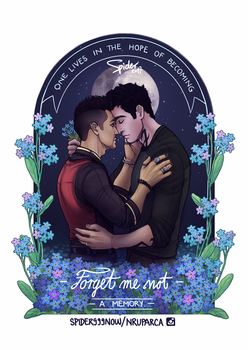 Forget Me Not by spider999now