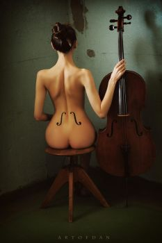Signs Of Cello by artofdan70