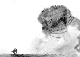 Shadow of the Colossus by katykat2011