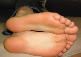 Smooth Bare Soles by SelfshotYourFeet