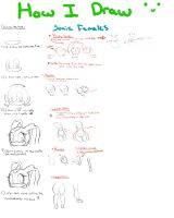 How i draw sonic females by HearlessSoul