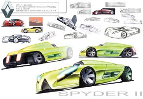 Renault Spyder II concept by PPLBLISS