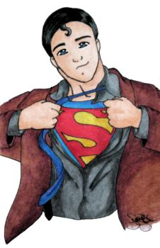 Becoming Superman by Claybunny