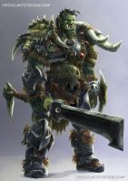 Orc-design by Tregis