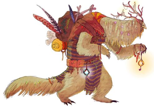 Forest Dweller by Exobio