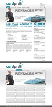 Online card system web design by Staticx99