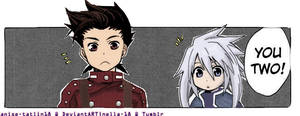 Lloyd Irving and Genis Sage 1 by anise-tatlin18