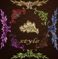 Styles for Photoshop by Korolevatumana
