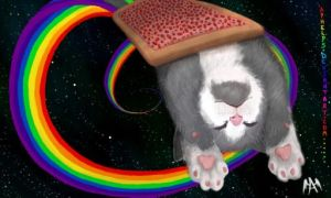 Nyan Nyan Nyan again... by Aphelps