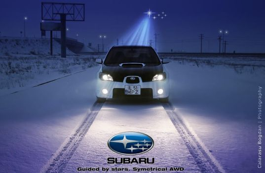 Guided by Stars. SUBARU AWD by HDRenesys