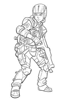 soldier guy by jimmymcwicked