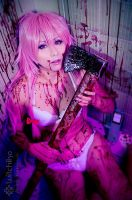 Yuno Gasai by Witchiko