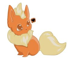Flareon by Mittah