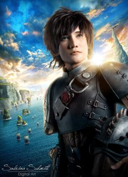 Hiccup How To Train Your Dragon 2 by liui-aquino