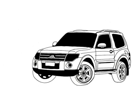 2008 Mitsubishi Pajero 2 Door by muzz-dogg