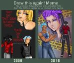 Devils Are Friends - Before and After by Project-Drow