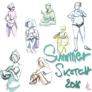 Summer Sketch 2016 by Pulce90