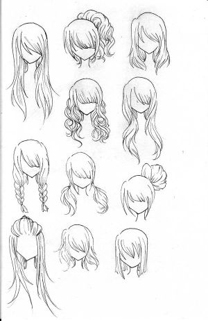Amazing Different Anime Hairstyles Hairstyles For Women Draintrainus