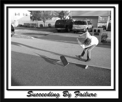 succeeding by failure by guitarist24000