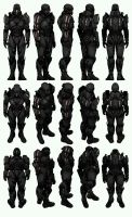 Mass Effect 3, MP N7 Destroyer Soldier Ref. by Troodon80