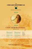 Chicago Baseball Metra Ad by mmusgjerd