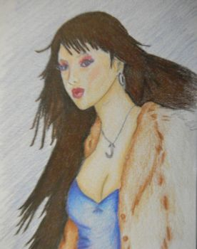 color pencil by sanjakitty
