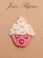 Fimo muffin by Emmpunct