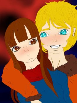 AT: Miki and Kenny by MaddieSP