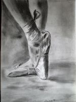 Ballet shoes by amymone