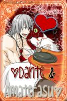 Dante and Amaterasu iPhone by PPGDBlossom