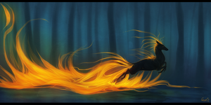 Dance among the Flames by SmolderBone