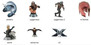 X3 Movie Icons  -  X-men 3 by markdelete