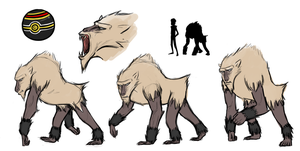 Goliath Primeape Reference Sheet
