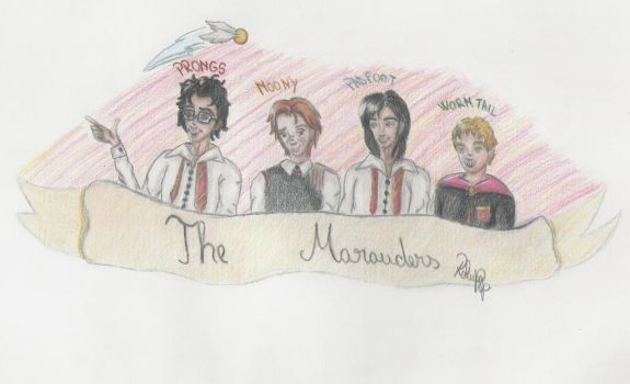 The Marauders by RalucaPop