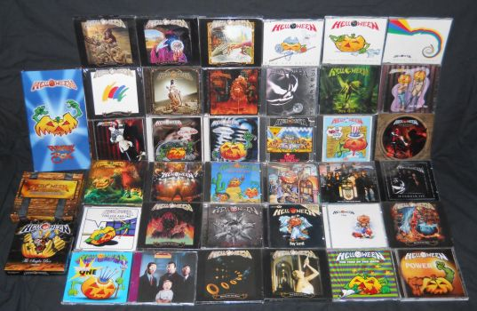 Helloween CD Collection by Malidicus