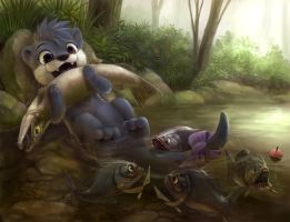 Commission for Otterbutt by Silverfox5213