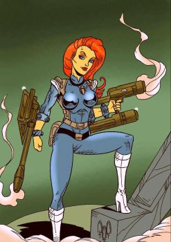 Crystal Kane from The Centurions by violencejack666