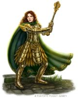 Cleric for Talisman by feliciacano