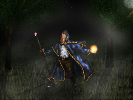Ishnar The Mage Complete by merlin-tbd