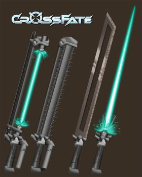 Cross Fate: Melee Weapons 3 by DKDevil