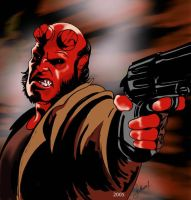 Hellboy by motokosection9