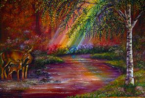 End of the Rainbow by AnnMarieBone