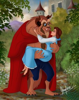 BEAUTY AND THE BEAST VERSION 2 by FERNL