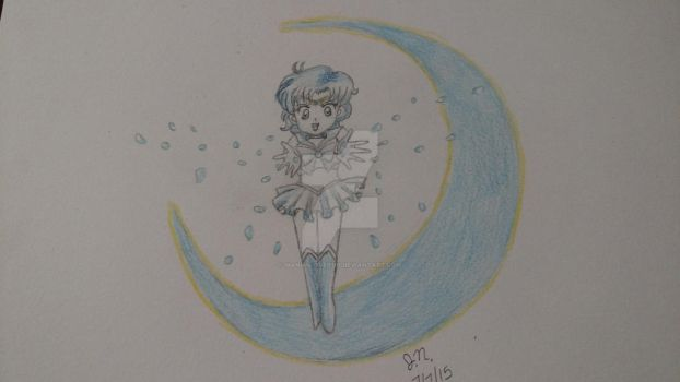 sailor mercury by mangalover101