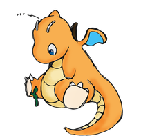 dragonite by warlemur