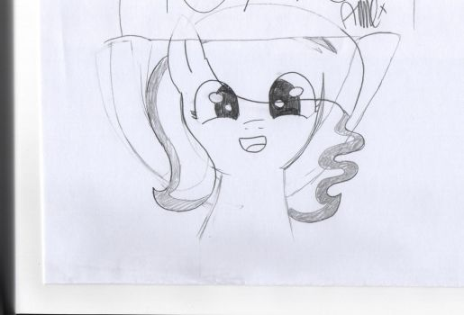 Doodle in class 2# by MoonbeamSparkle