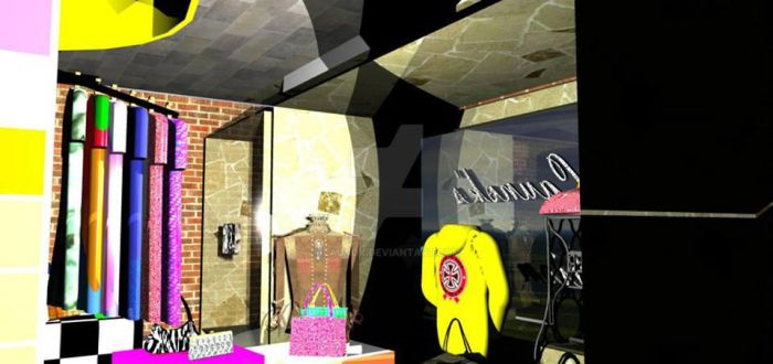 Launok Fashion Shop Interior 2 by launok